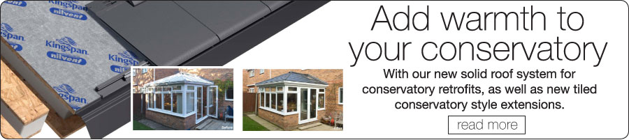 Solid Roof Conservatorys at York Trade Windows